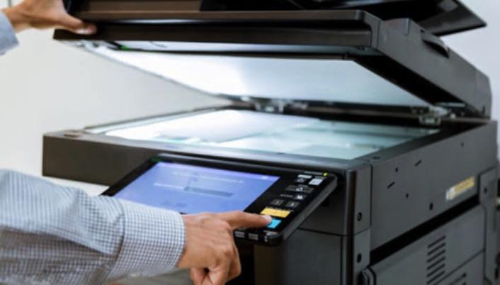 Cách sử dụng phím trên màn hình cảm ứng máy photocopy ricoh
